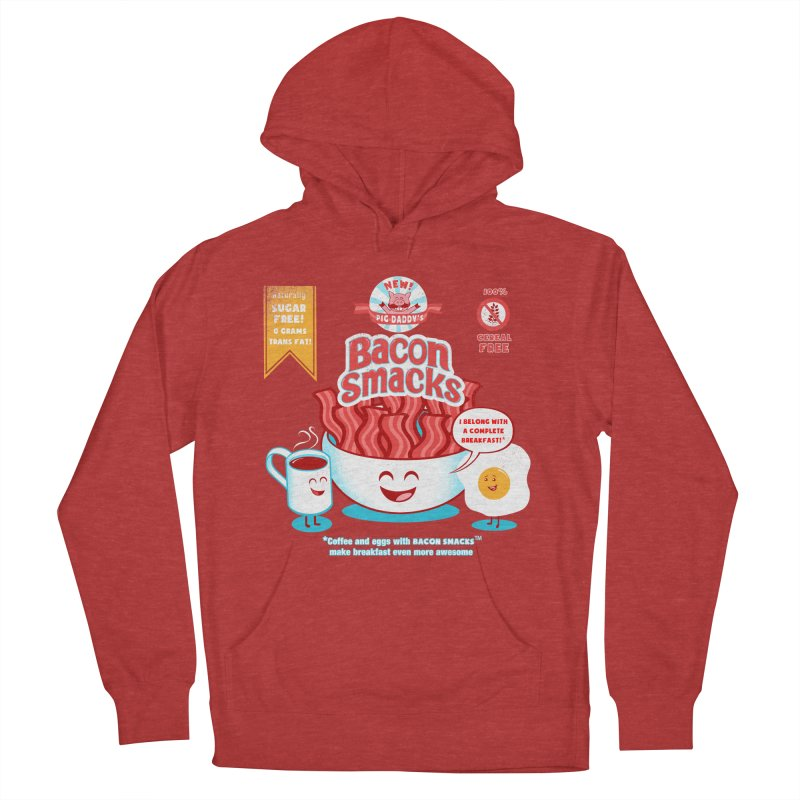 Bacon Smacks Women's Pullover Hoody by Charity Ryan