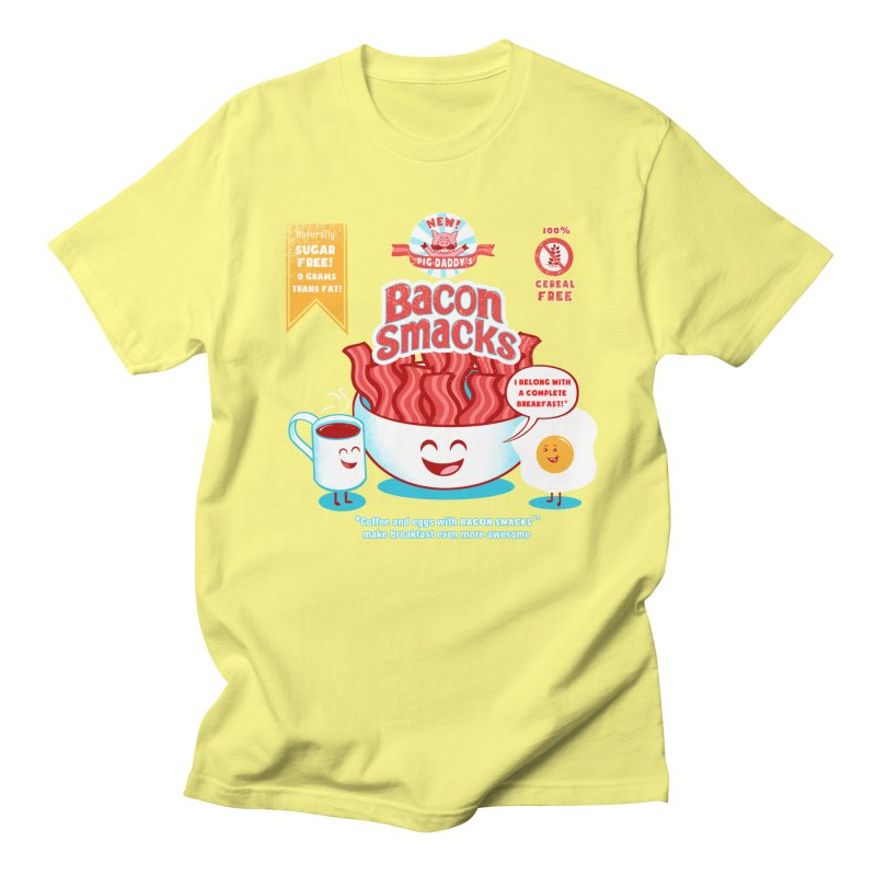 Bacon Smacks Men's T-shirt by Charity Ryan