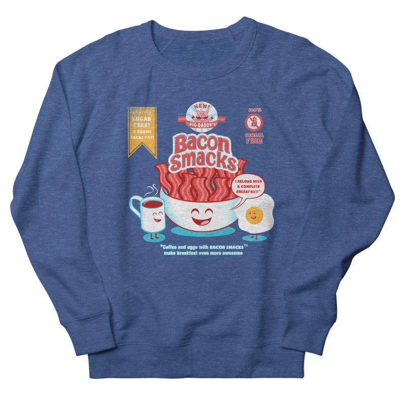 Bacon Smacks Women's Sweatshirt by Charity Ryan