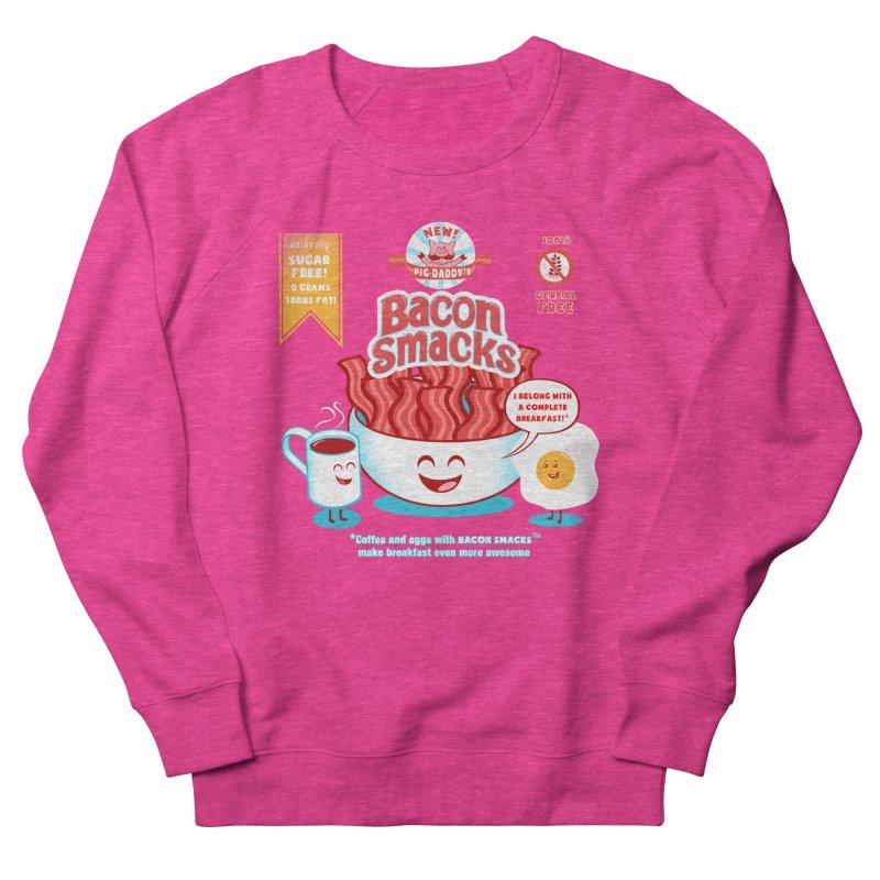 Bacon Smacks Men's Sweatshirt by Charity Ryan