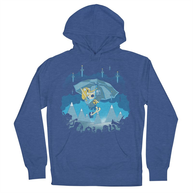 Rainy Day Adventure Men's Pullover Hoody by Charity Ryan
