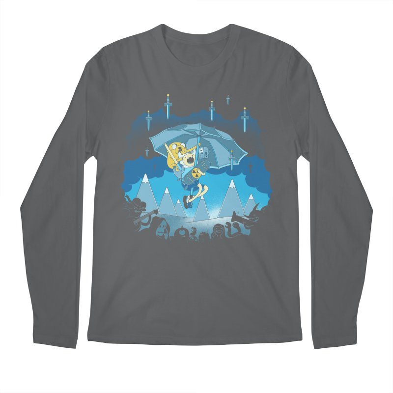 Rainy Day Adventure Men's Longsleeve T-Shirt by Charity Ryan