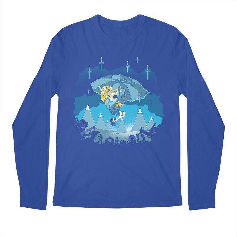 Rainy Day Adventure Men's Longsleeve T-Shirt by Charity Ryan