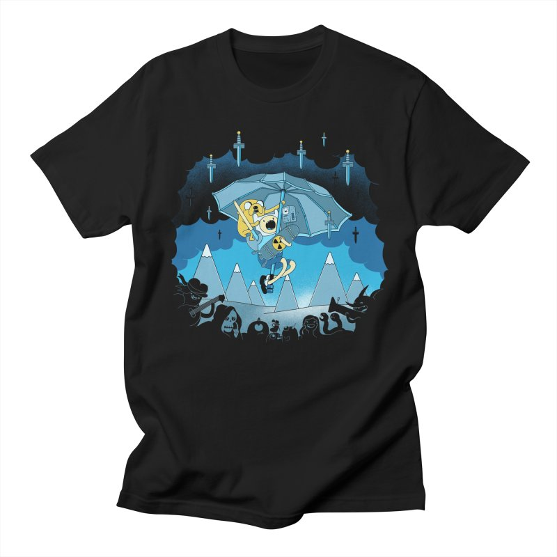 Rainy Day Adventure Men's T-Shirt by Charity Ryan