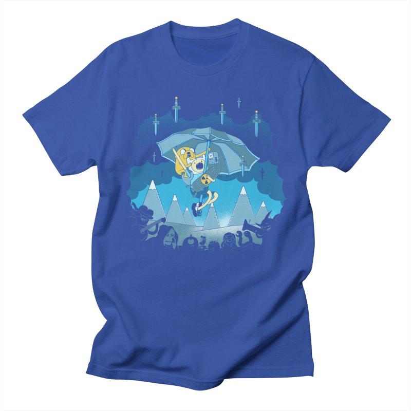 Rainy Day Adventure Men's T-shirt by Charity Ryan