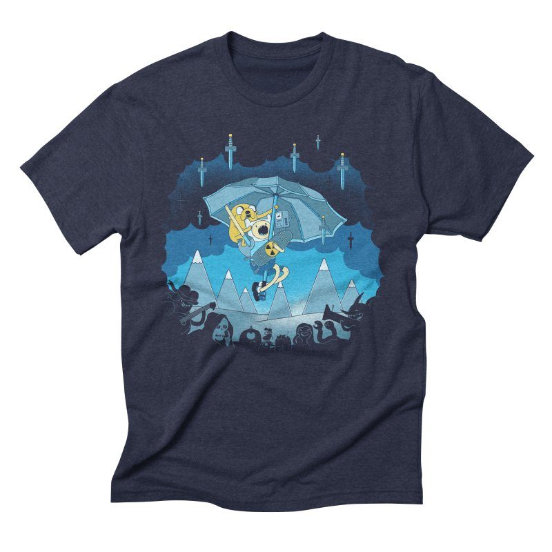 Rainy Day Adventure Men's Triblend T-Shirt by Charity Ryan