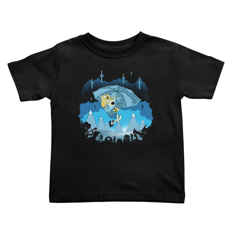 Rainy Day Adventure Kids Toddler T-Shirt by Charity Ryan