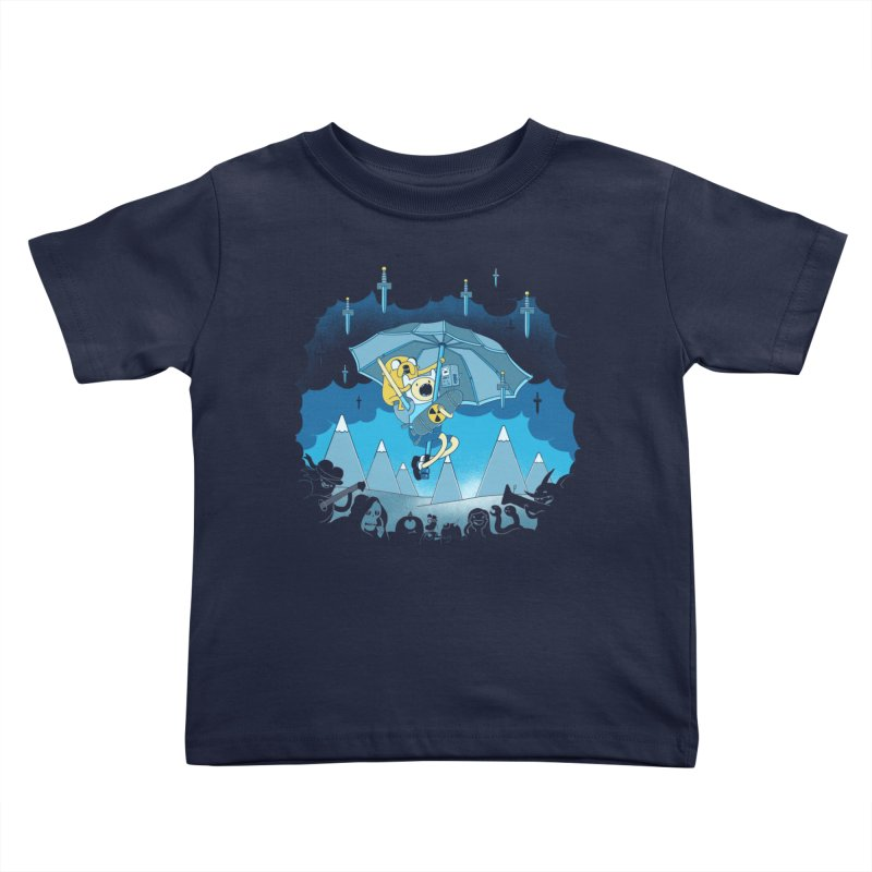 Rainy Day Adventure Kids Toddler T-Shirt by Charity Ryan
