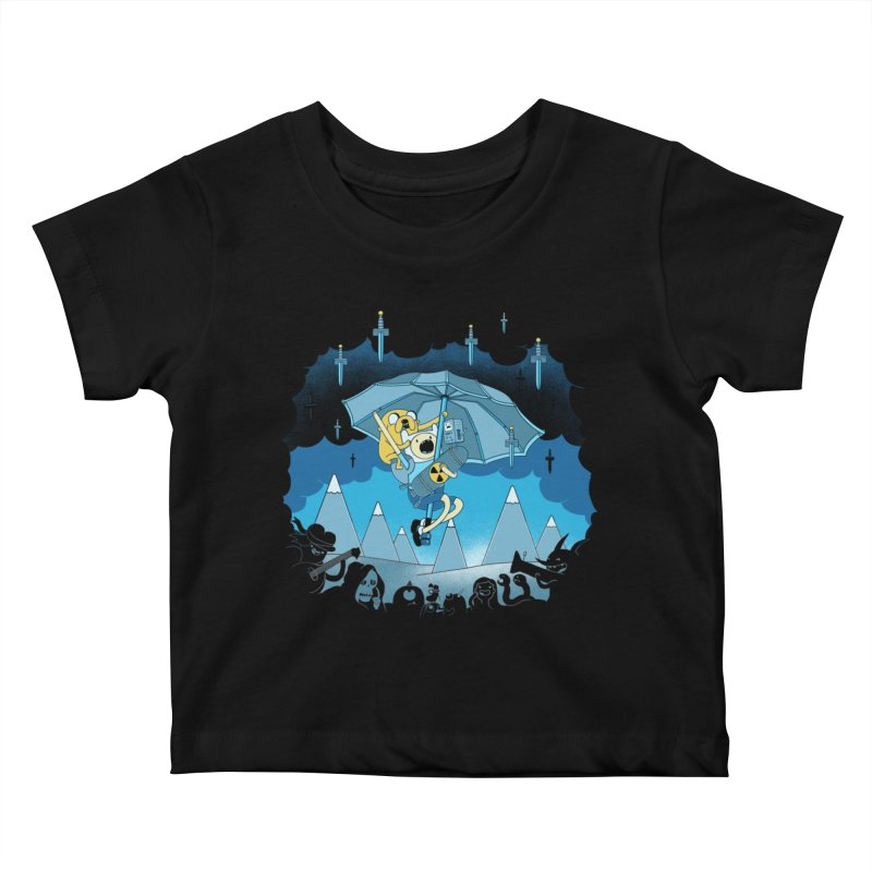 Rainy Day Adventure Kids Baby T-Shirt by Charity Ryan