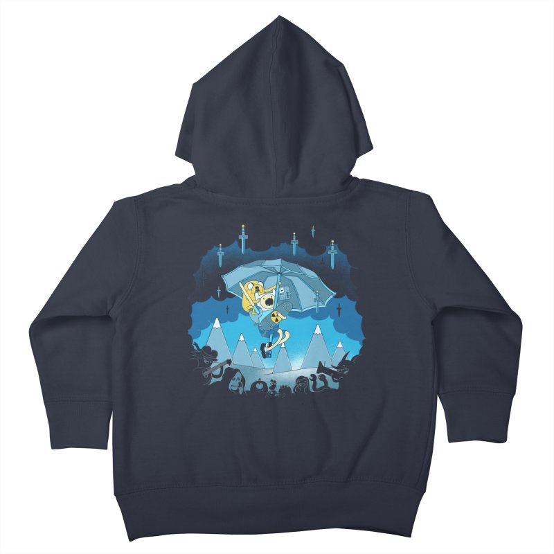 Rainy Day Adventure Kids Toddler Zip-Up Hoody by Charity Ryan