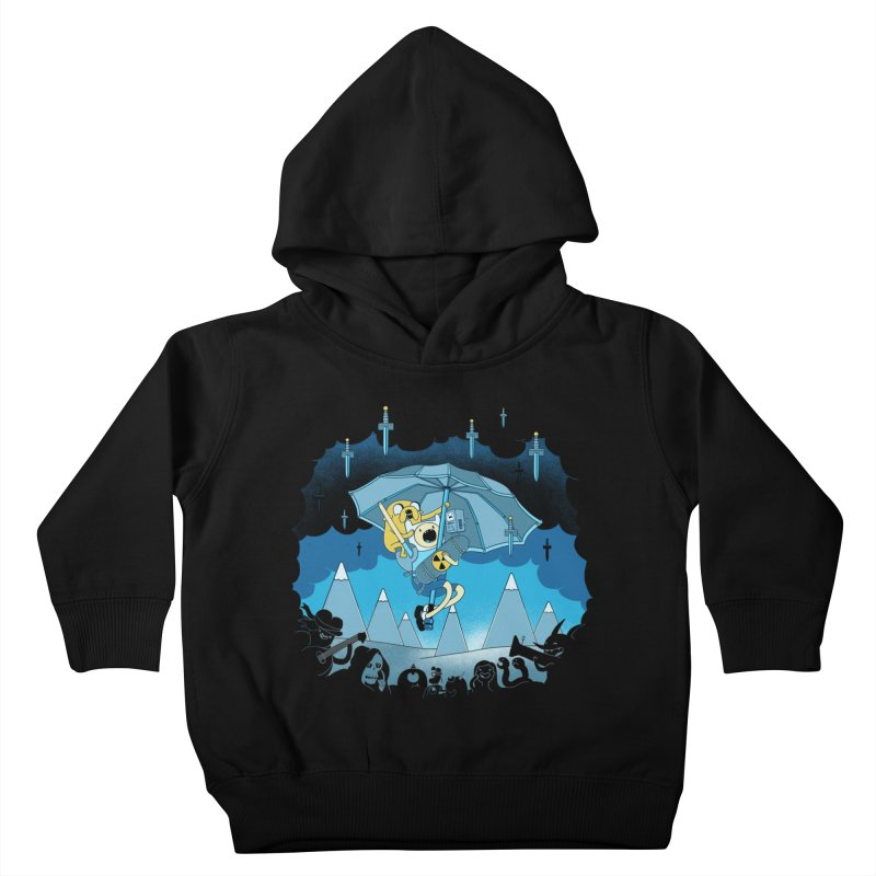 Rainy Day Adventure Kids Toddler Pullover Hoody by Charity Ryan