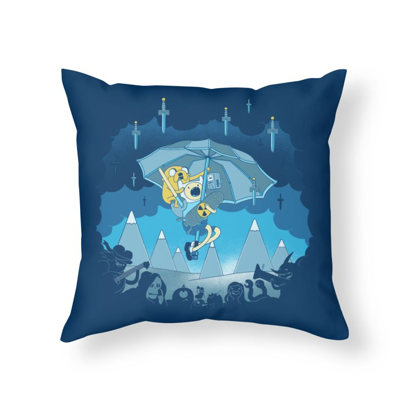 Rainy Day Adventure Home Throw Pillow by Charity Ryan