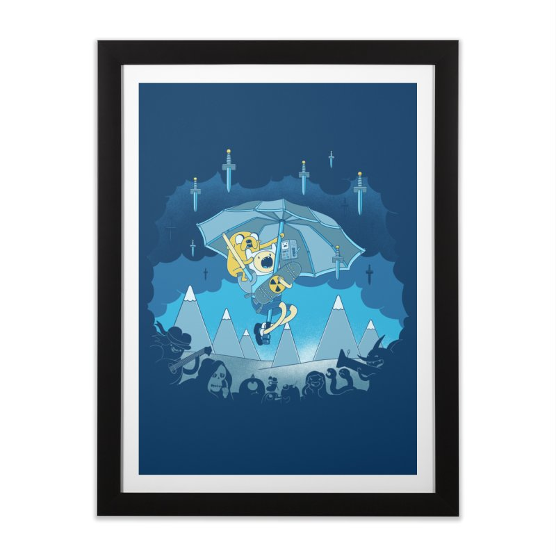 Rainy Day Adventure Home Framed Fine Art Print by Charity Ryan