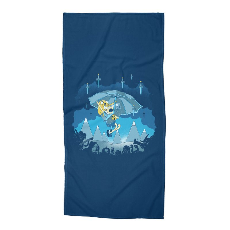 Rainy Day Adventure Accessories Beach Towel by Charity Ryan