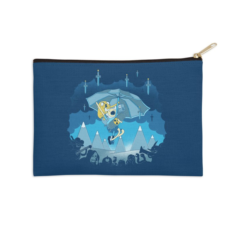 Rainy Day Adventure Accessories Zip Pouch by Charity Ryan