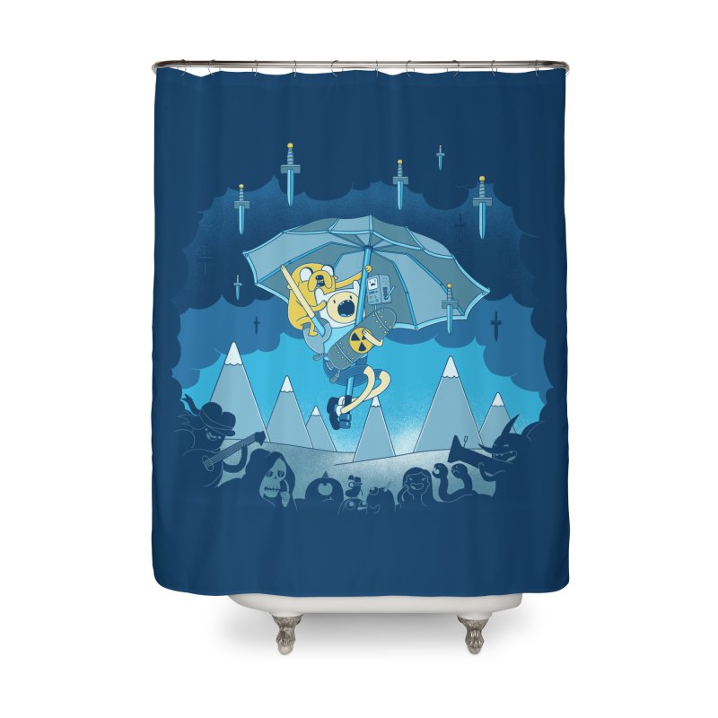 Rainy Day Adventure Home Shower Curtain by Charity Ryan