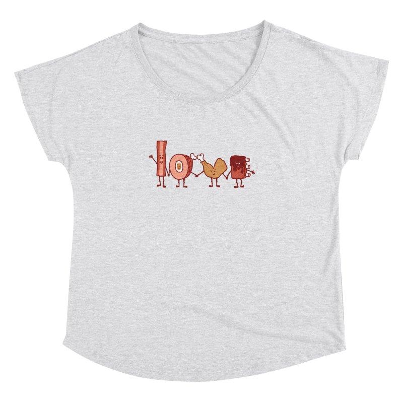 Meat Love U Women's Dolman by Charity Ryan