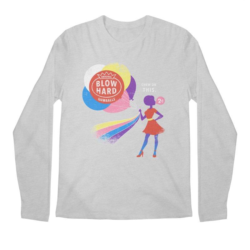 Blow Hard Men's Longsleeve T-Shirt by Charity Ryan