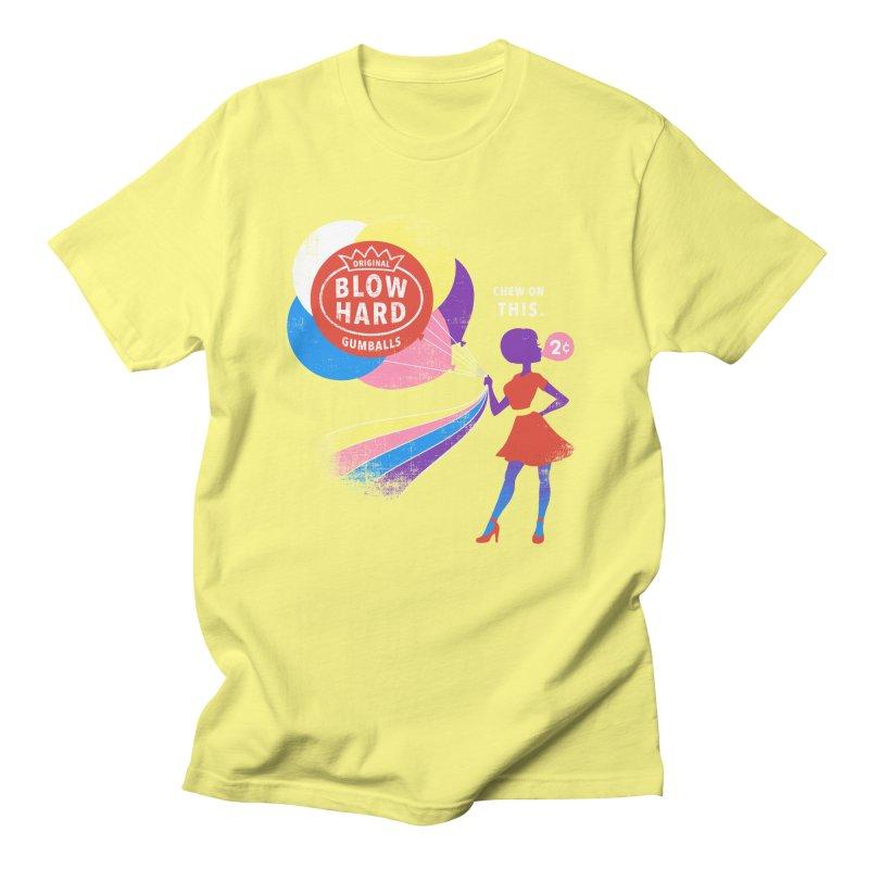 Blow Hard Men's T-shirt by Charity Ryan