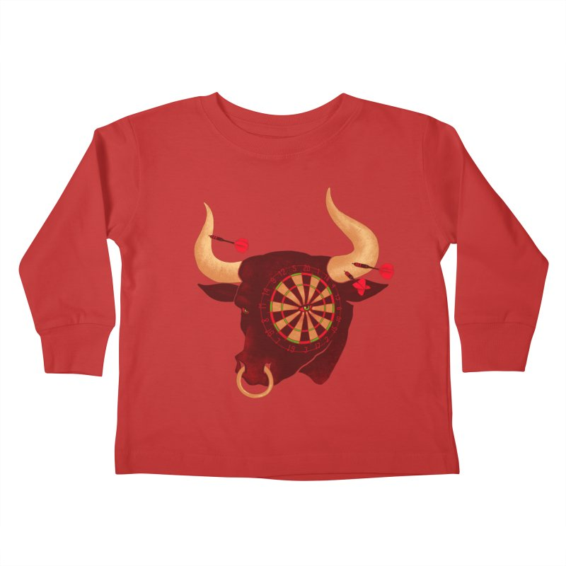 Toro!Toro!Toro! Kids Toddler Longsleeve T-Shirt by Charity Ryan