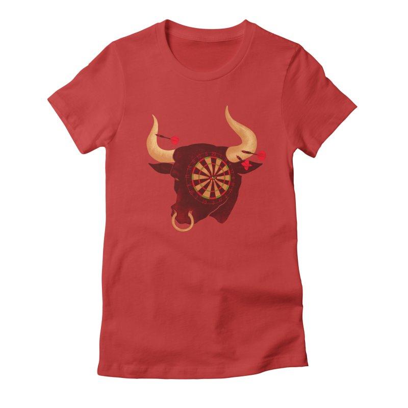 Toro!Toro!Toro! Women's Fitted T-Shirt by Charity Ryan