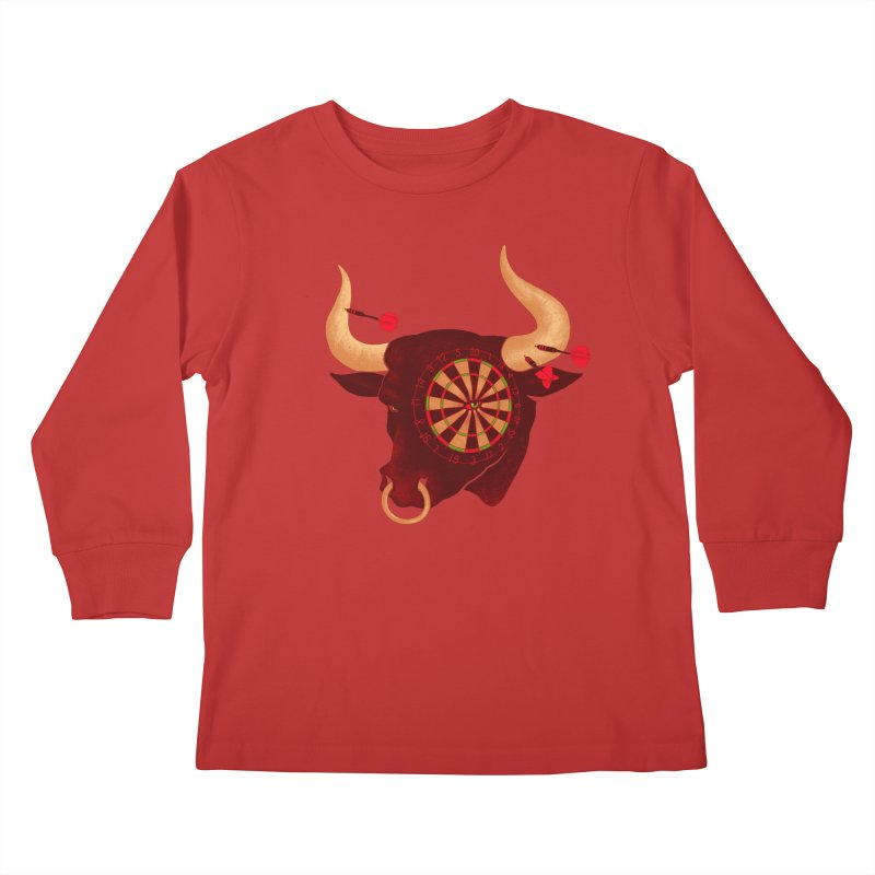 Toro!Toro!Toro! Kids Longsleeve T-Shirt by Charity Ryan