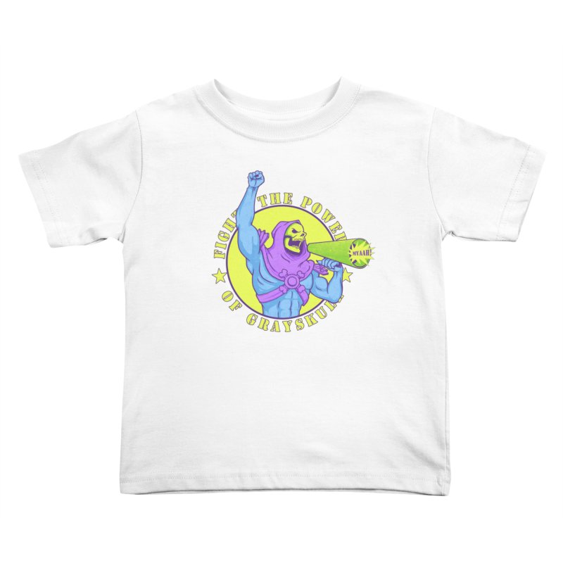 Public Enemy of Eternia Kids Toddler T-Shirt by Charity Ryan
