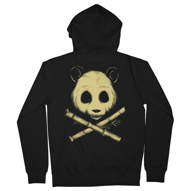 The Jolly Panda Men's Zip-Up Hoody by Charity Ryan