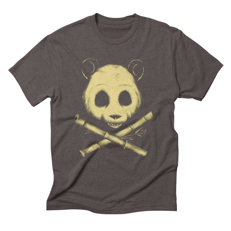 The Jolly Panda Men's Triblend T-Shirt by Charity Ryan