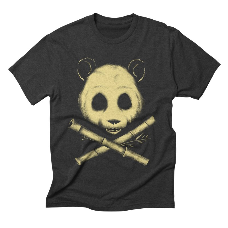 The Jolly Panda Men's Triblend T-shirt by Charity Ryan