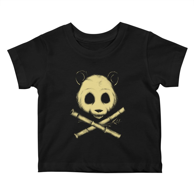 The Jolly Panda Kids Baby T-Shirt by Charity Ryan