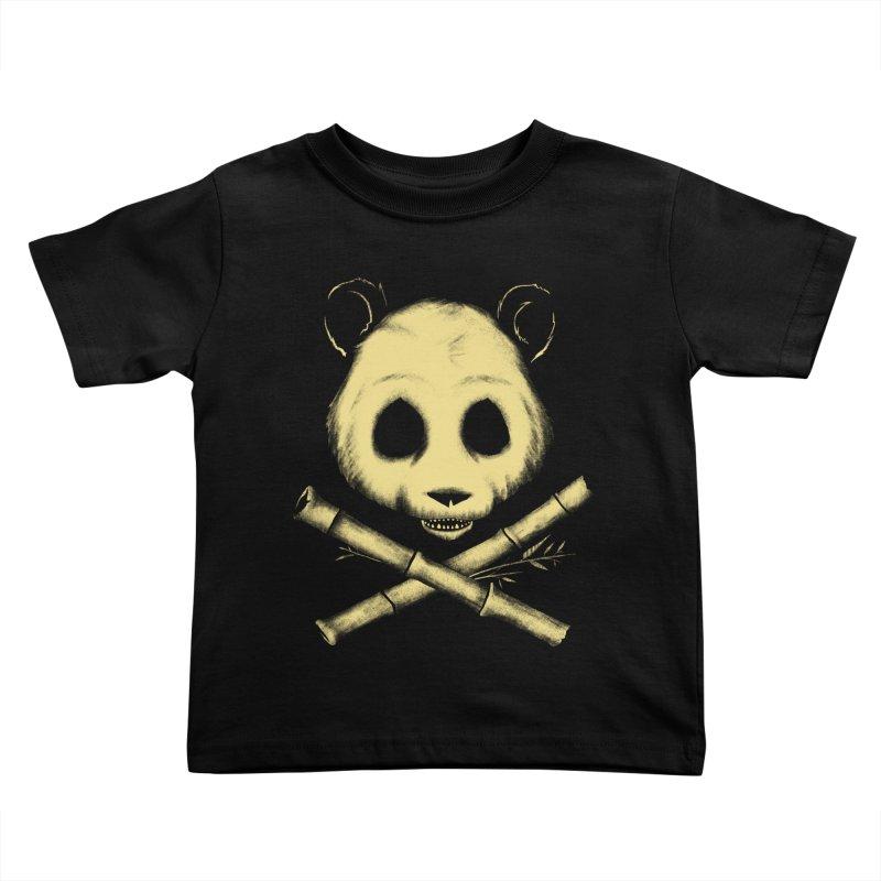 The Jolly Panda Kids Toddler T-Shirt by Charity Ryan