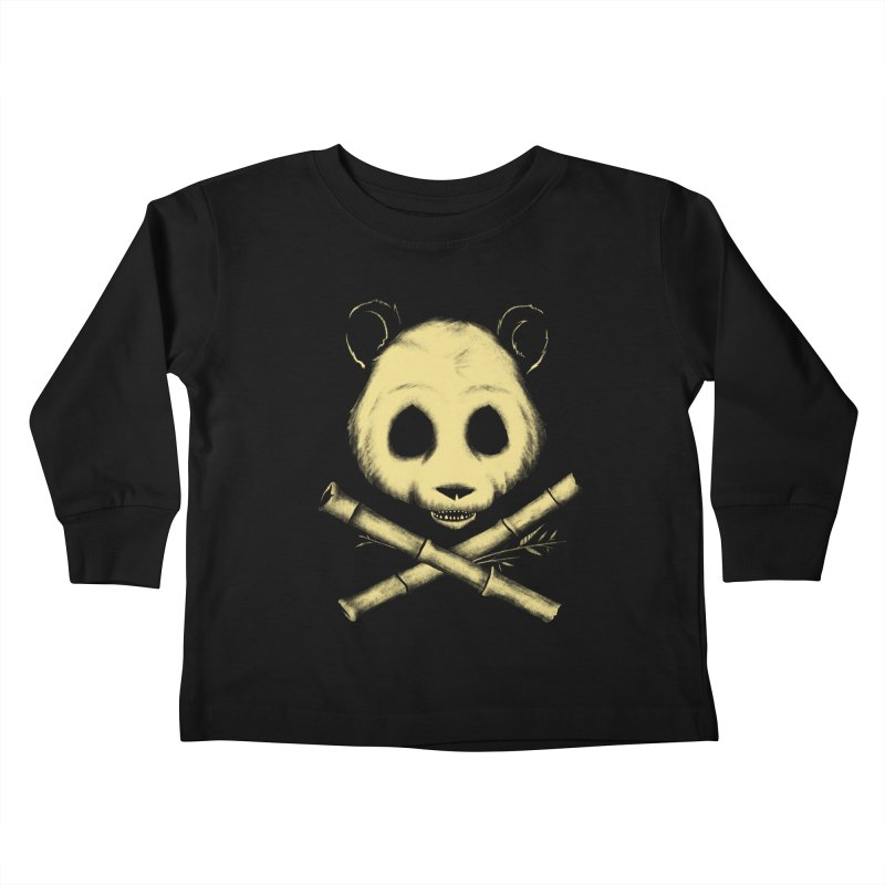 The Jolly Panda Kids Toddler Longsleeve T-Shirt by Charity Ryan