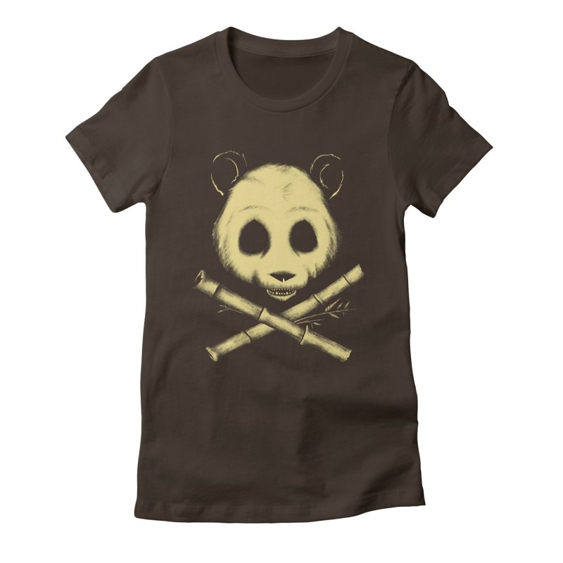 The Jolly Panda Women's Fitted T-Shirt by Charity Ryan