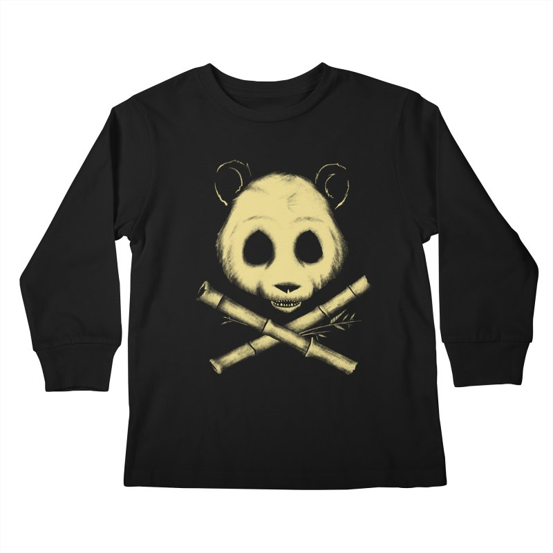 The Jolly Panda Kids Longsleeve T-Shirt by Charity Ryan