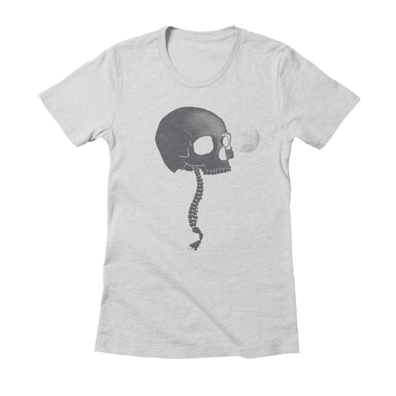 Socket Women's Fitted T-Shirt by Charity Ryan