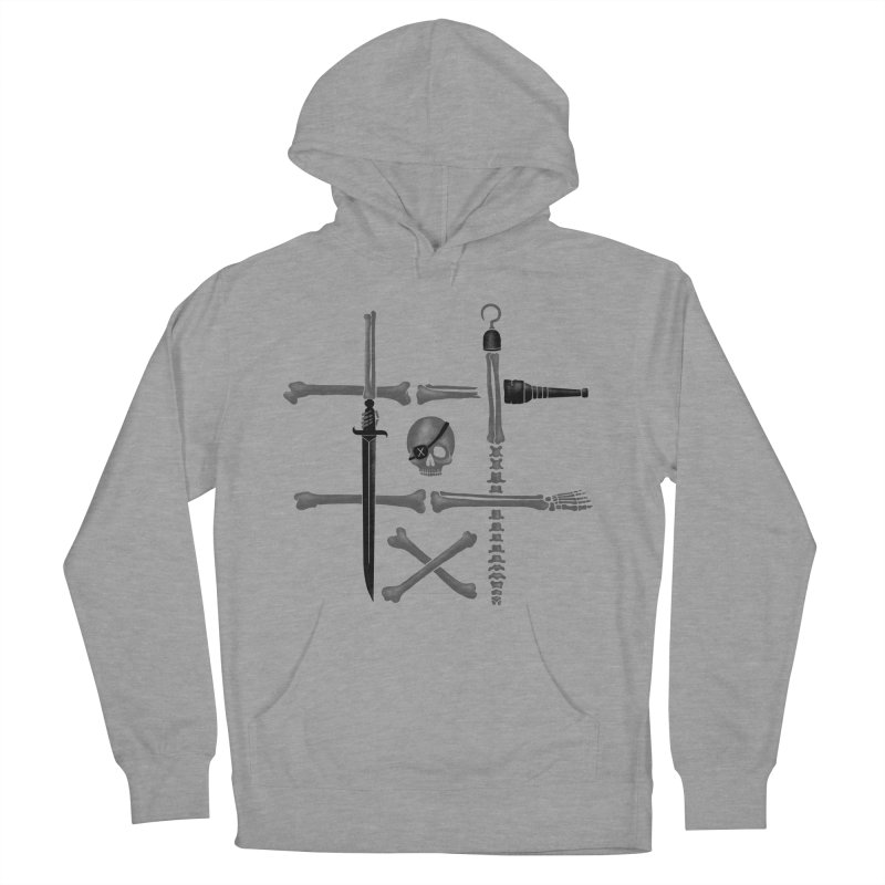 Noughts and Crossbones Women's Pullover Hoody by Charity Ryan