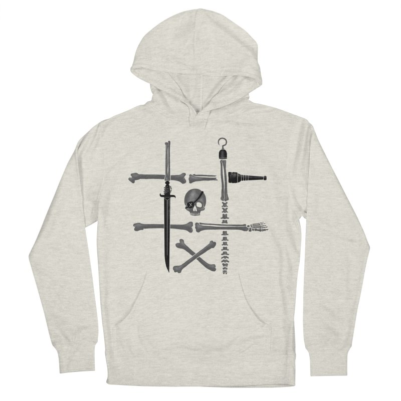 Noughts and Crossbones Men's Pullover Hoody by Charity Ryan