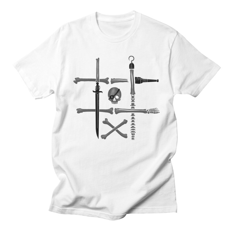 Noughts and Crossbones Men's T-Shirt by Charity Ryan