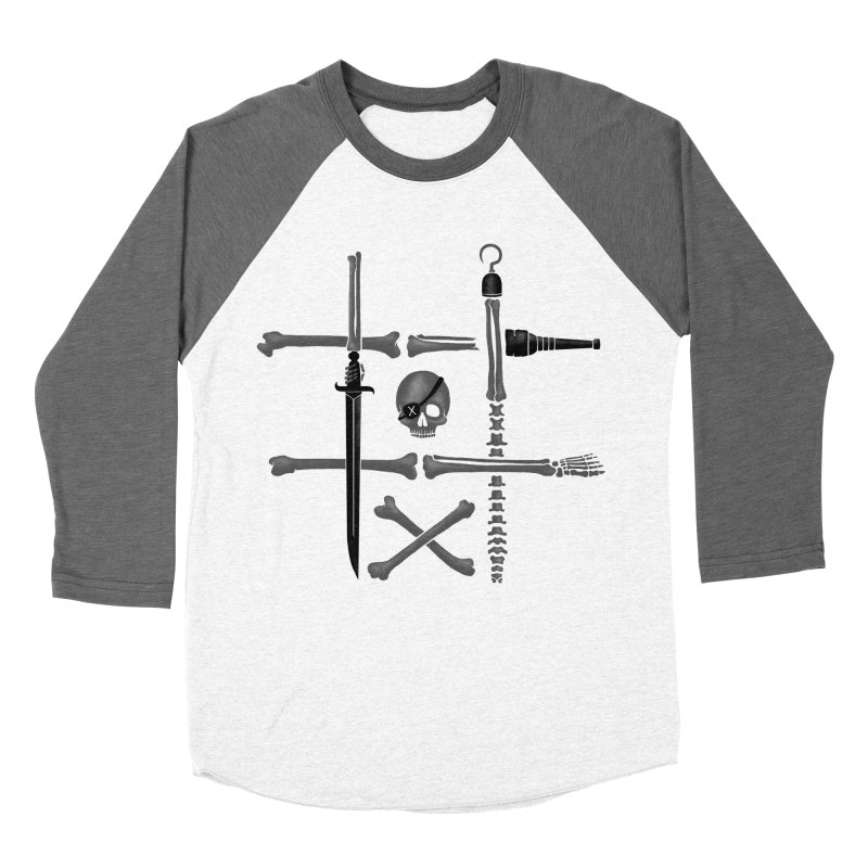 Noughts and Crossbones Women's Baseball Triblend T-Shirt by Charity Ryan
