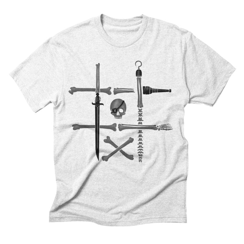 Noughts and Crossbones Men's Triblend T-shirt by Charity Ryan