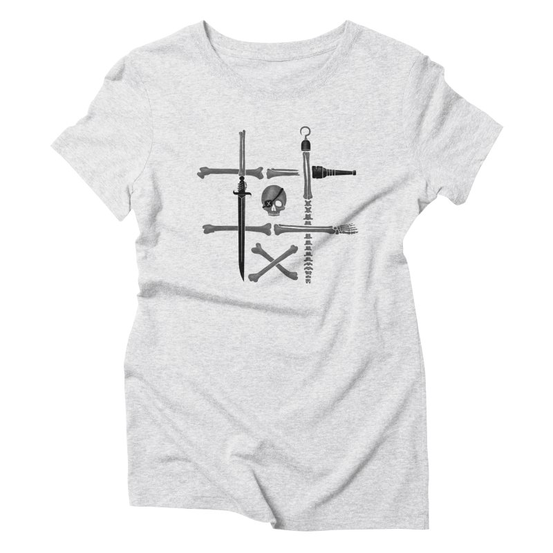 Noughts and Crossbones Women's Triblend T-Shirt by Charity Ryan