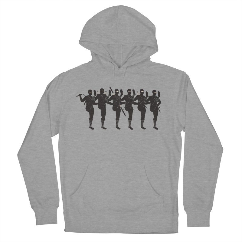 Ninja Kickline Men's Pullover Hoody by Charity Ryan