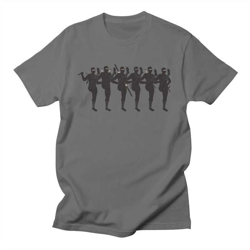 Ninja Kickline Men's T-Shirt by Charity Ryan