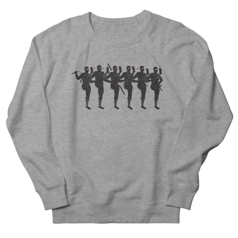 Ninja Kickline Men's Sweatshirt by Charity Ryan