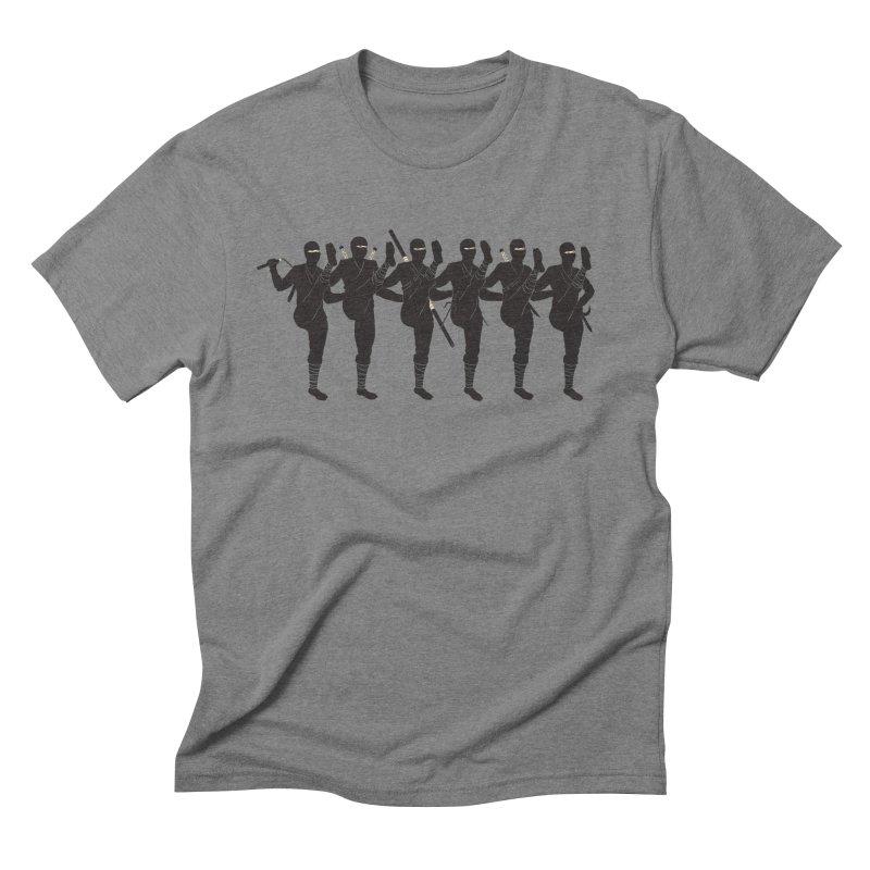 Ninja Kickline Men's Triblend T-Shirt by Charity Ryan