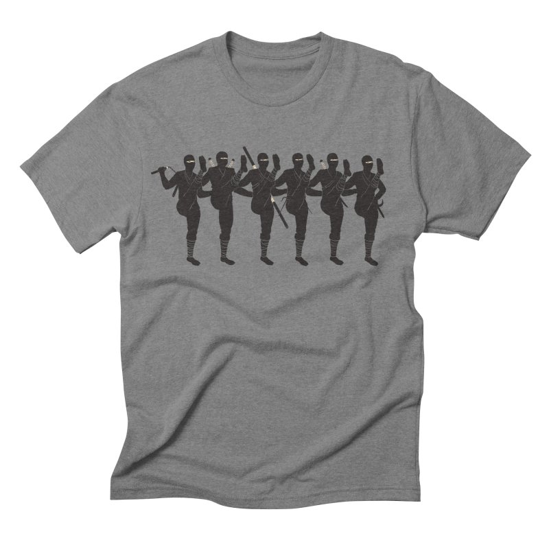 Ninja Kickline Men's Triblend T-shirt by Charity Ryan
