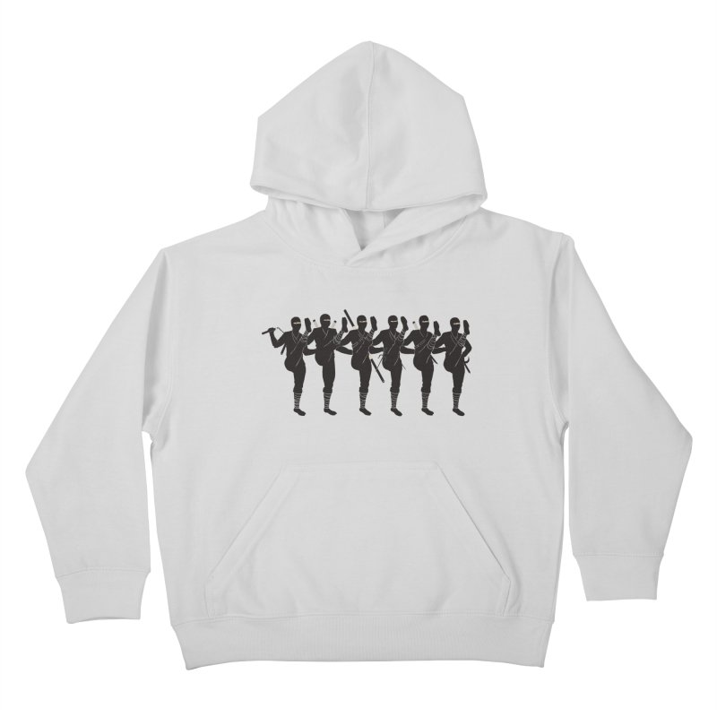 Ninja Kickline Kids Pullover Hoody by Charity Ryan