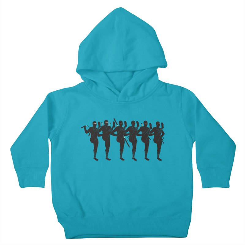 Ninja Kickline Kids Toddler Pullover Hoody by Charity Ryan