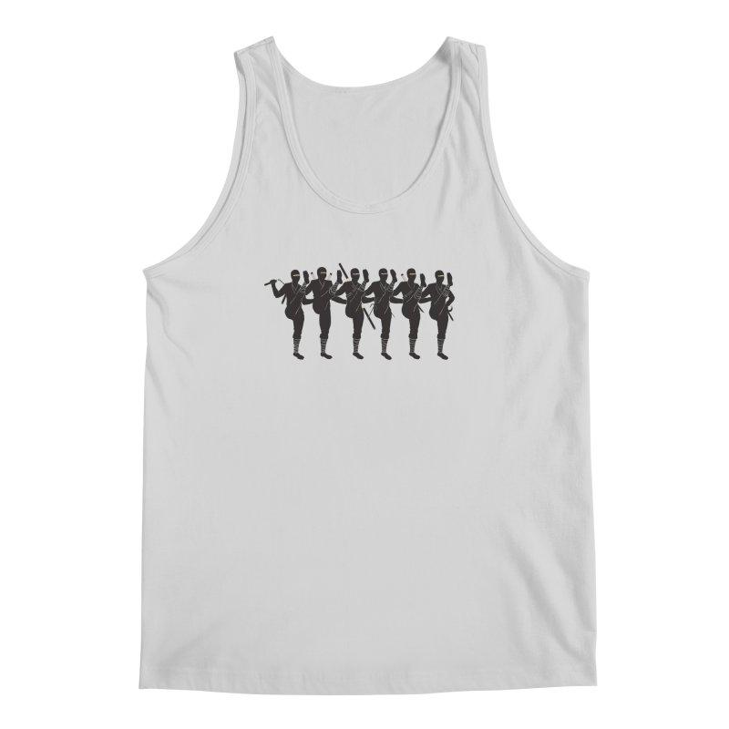 Ninja Kickline Men's Tank by Charity Ryan